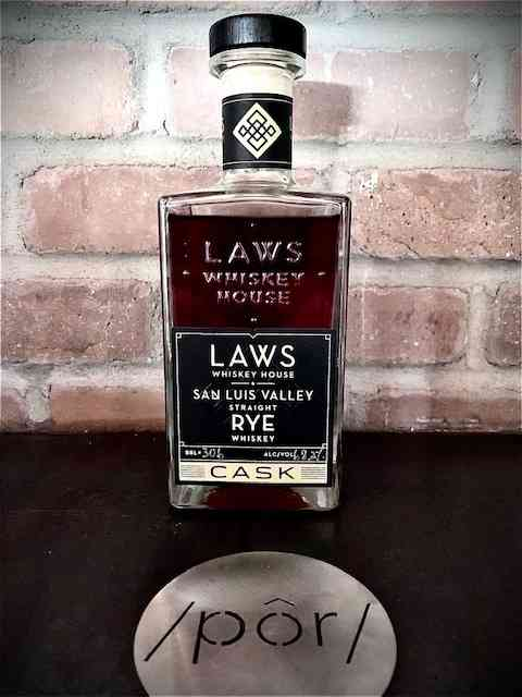 Laws San Luis Valley Straight Rye Whiskey Cask