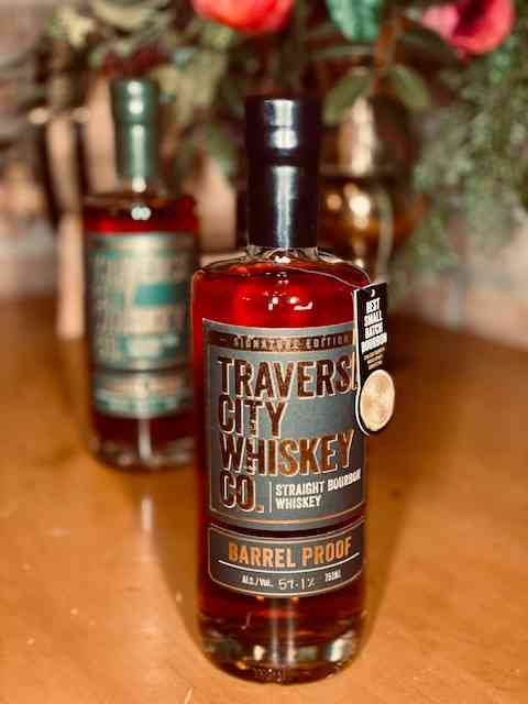 "Traverse City Straight Bourbon Barrel Proof ""Signature Edition"""