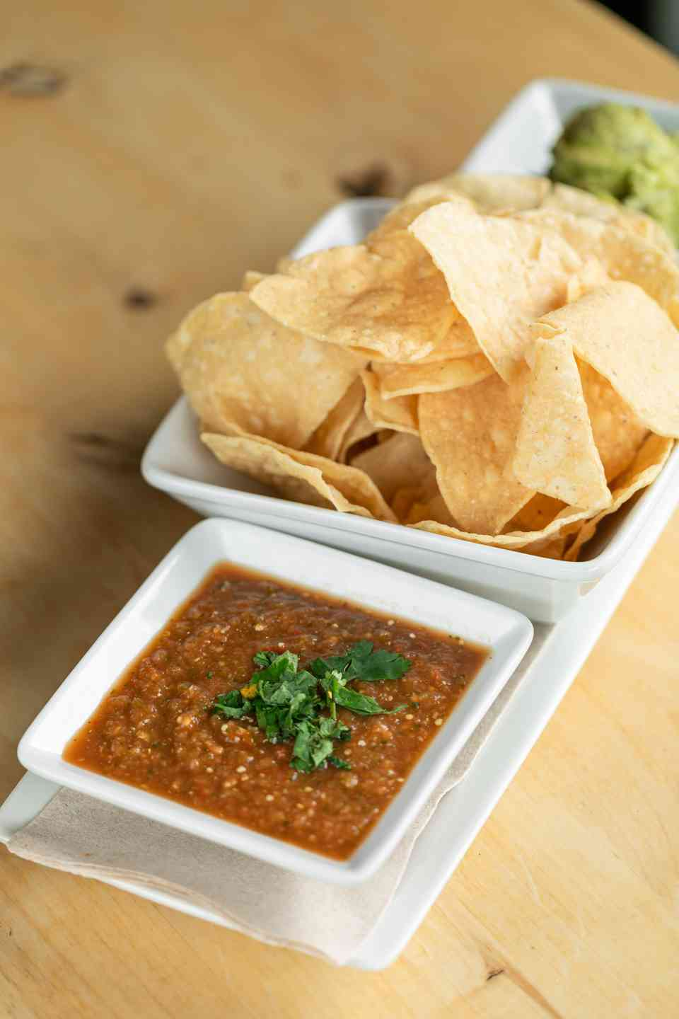 Chips & Roasted Salsa