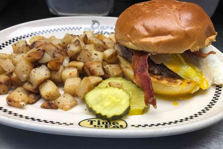 The Brunch Burger
