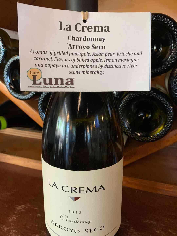 La Crema Arroyo Seco, Chardonnay