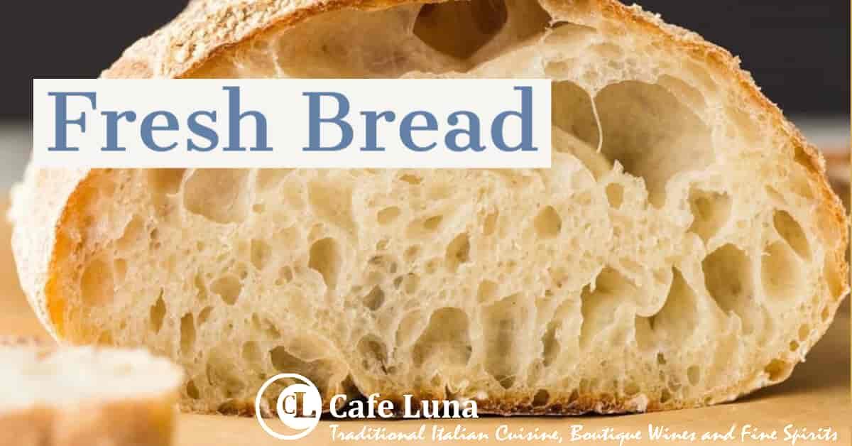 Loaf of Ciabatta Bread