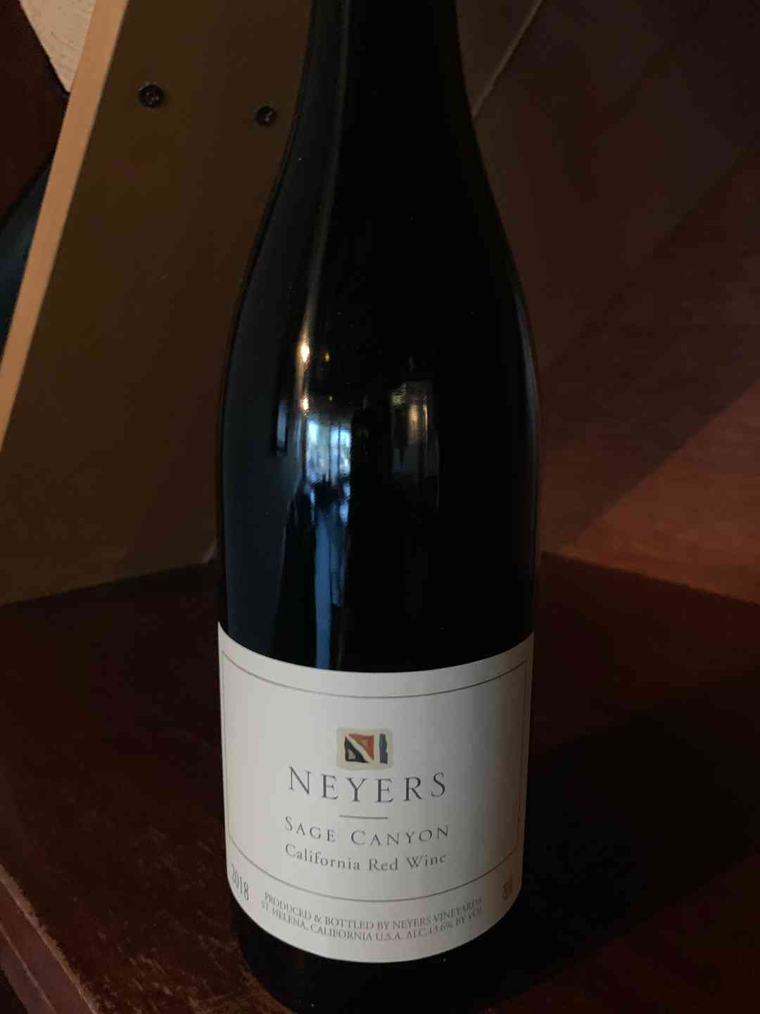 Neyers Sage Canyon, Rhone Blend