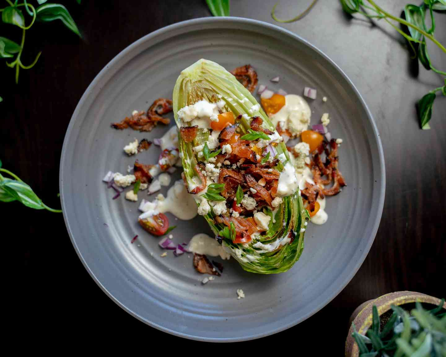Grilled Artisan Wedge Salad