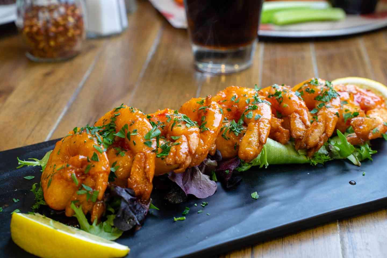 sweet chilli shrimp