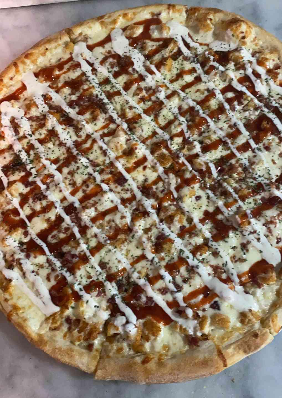 BBQ Chicken, Bacon & Ranch Pizza