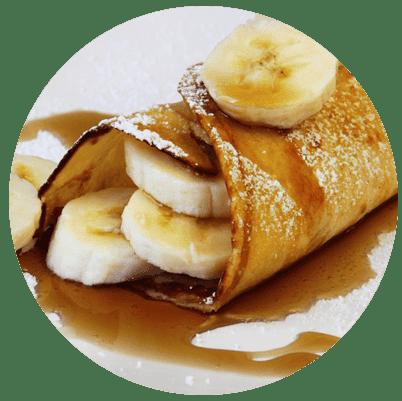 breakfast crepe