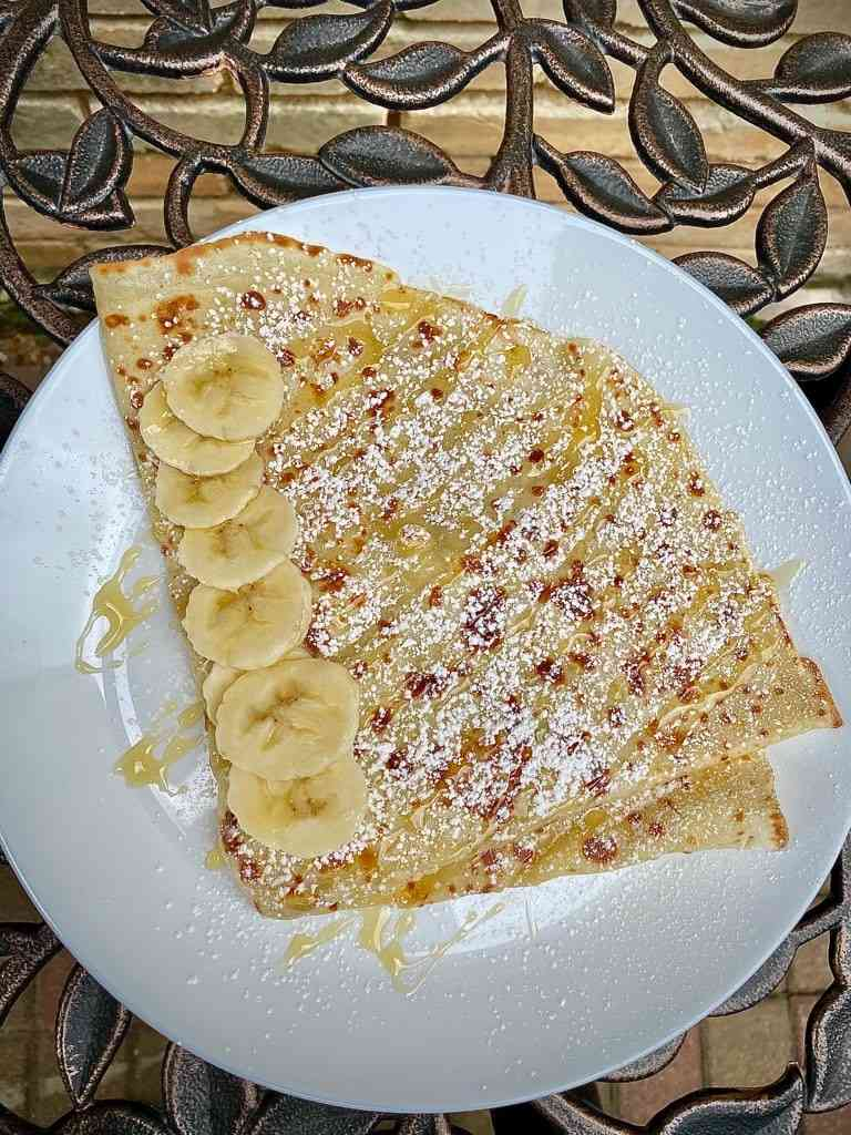 Banana & Honey Crepe
