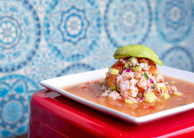 Ceviche Seabass Mango