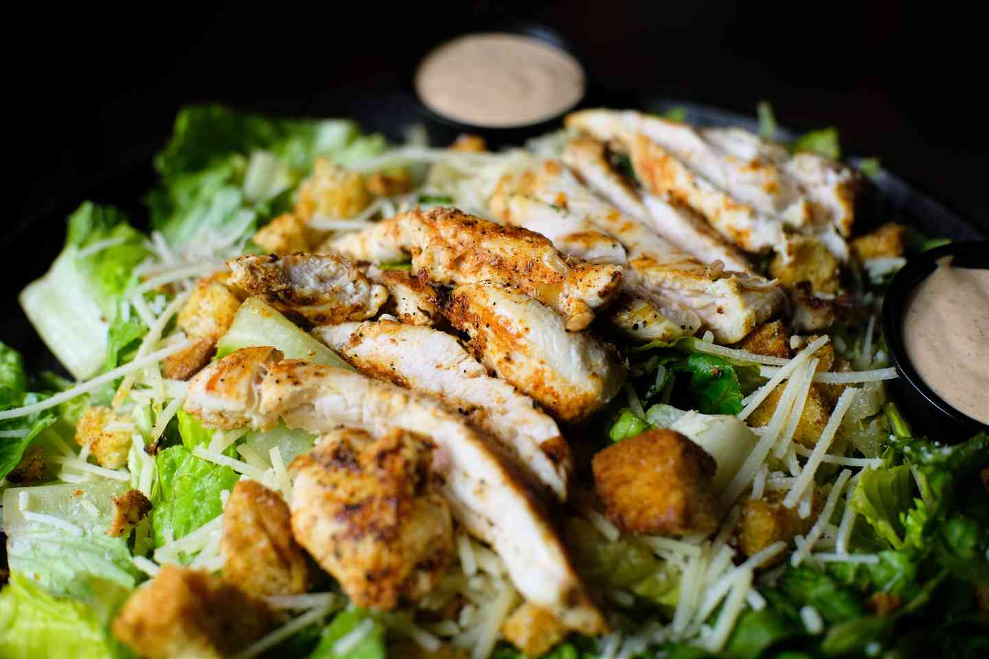 BLACKENED CHICKEN CAESAR