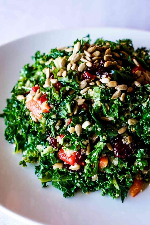 Chopped Kale & Quinoa