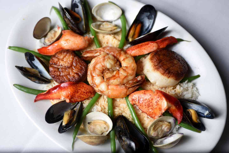 Shellfish Stir-Fry