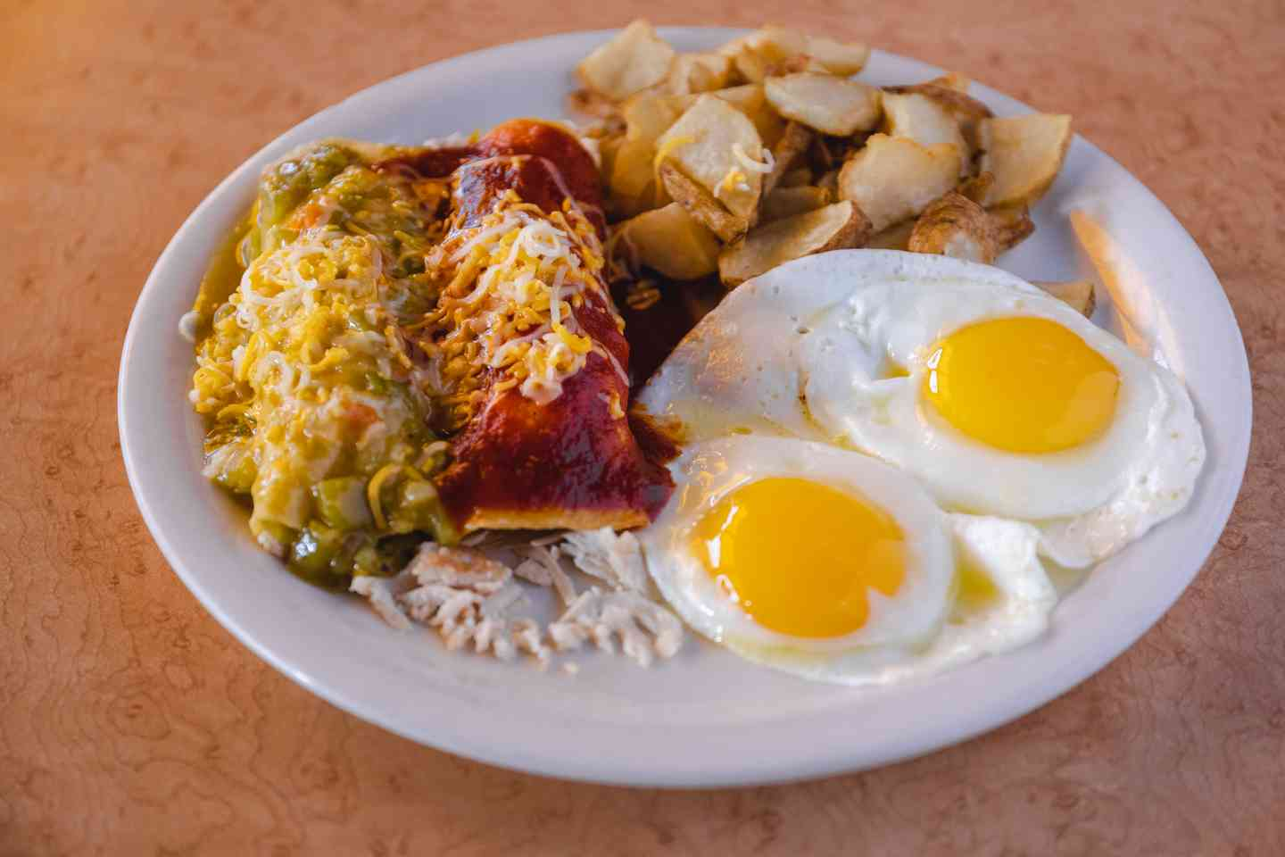#63 Enchiladas & Eggs