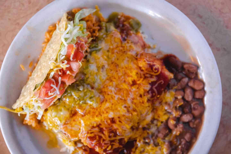 #9 Hot Tamales Combination