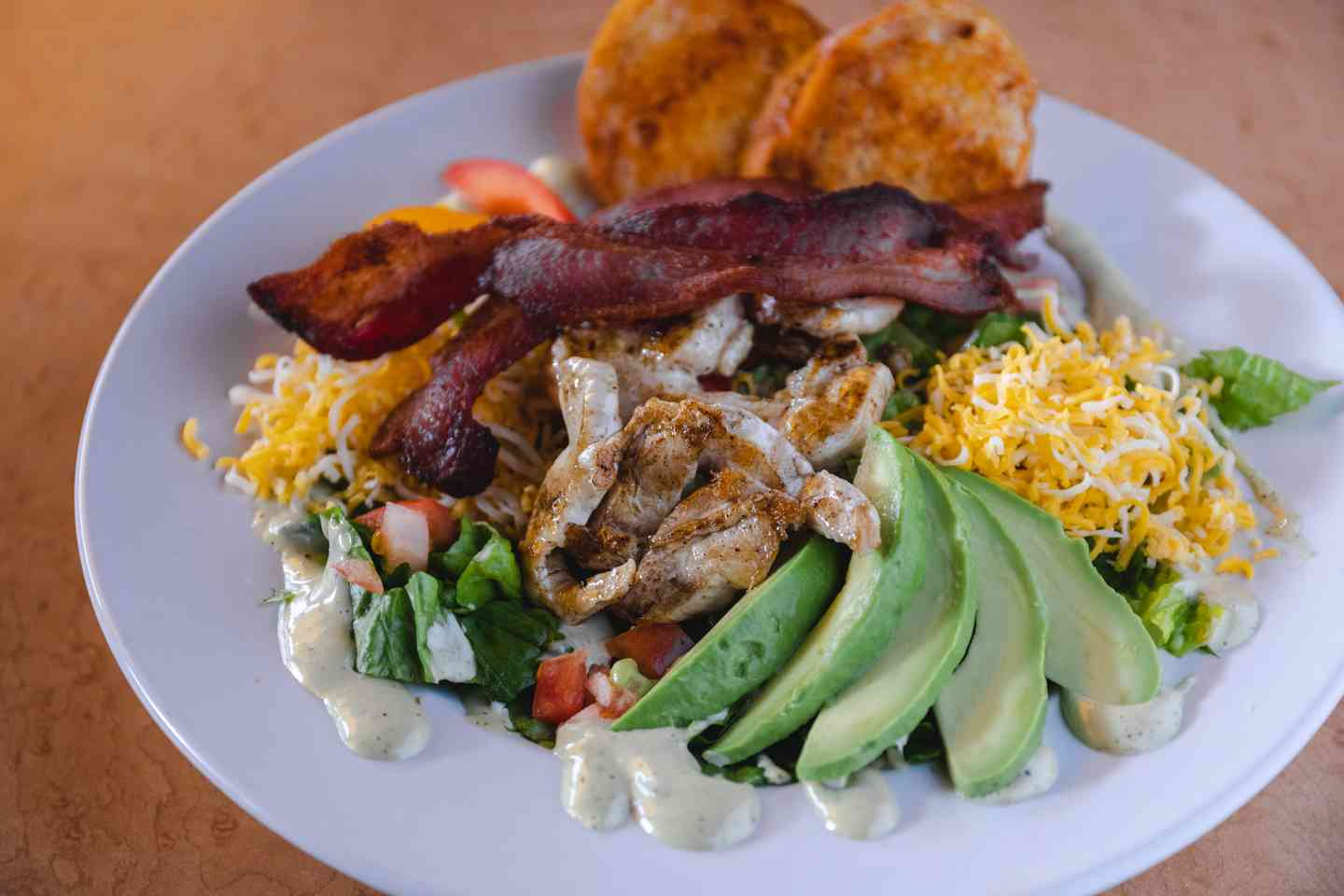 Chicken, Bacon, & Avocado Salad