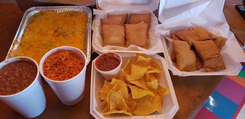 Enchilada Casserole Family Dinner