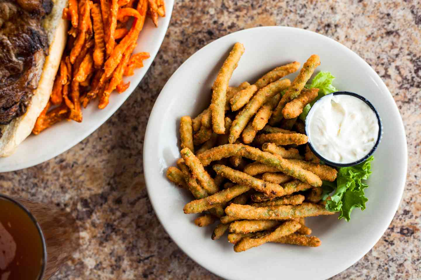 Deep-Fried Green Beans