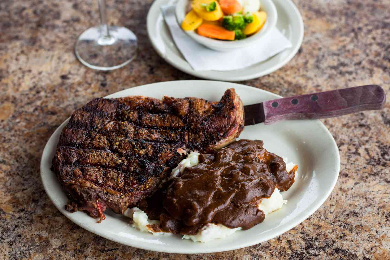 Herbed Butter Rib Eye Steak*