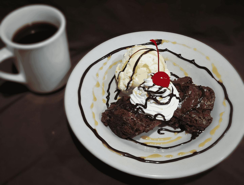 Ghirardelli Brownies & Ice Cream