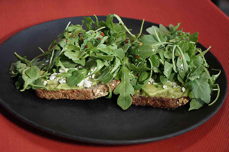 13. The Avocado & Feta on Toast