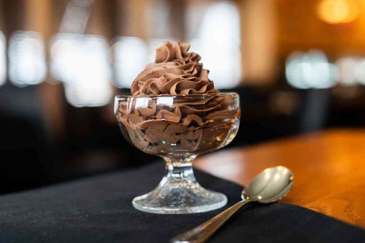 SICILIAN CHOCOLATE MOUSSE