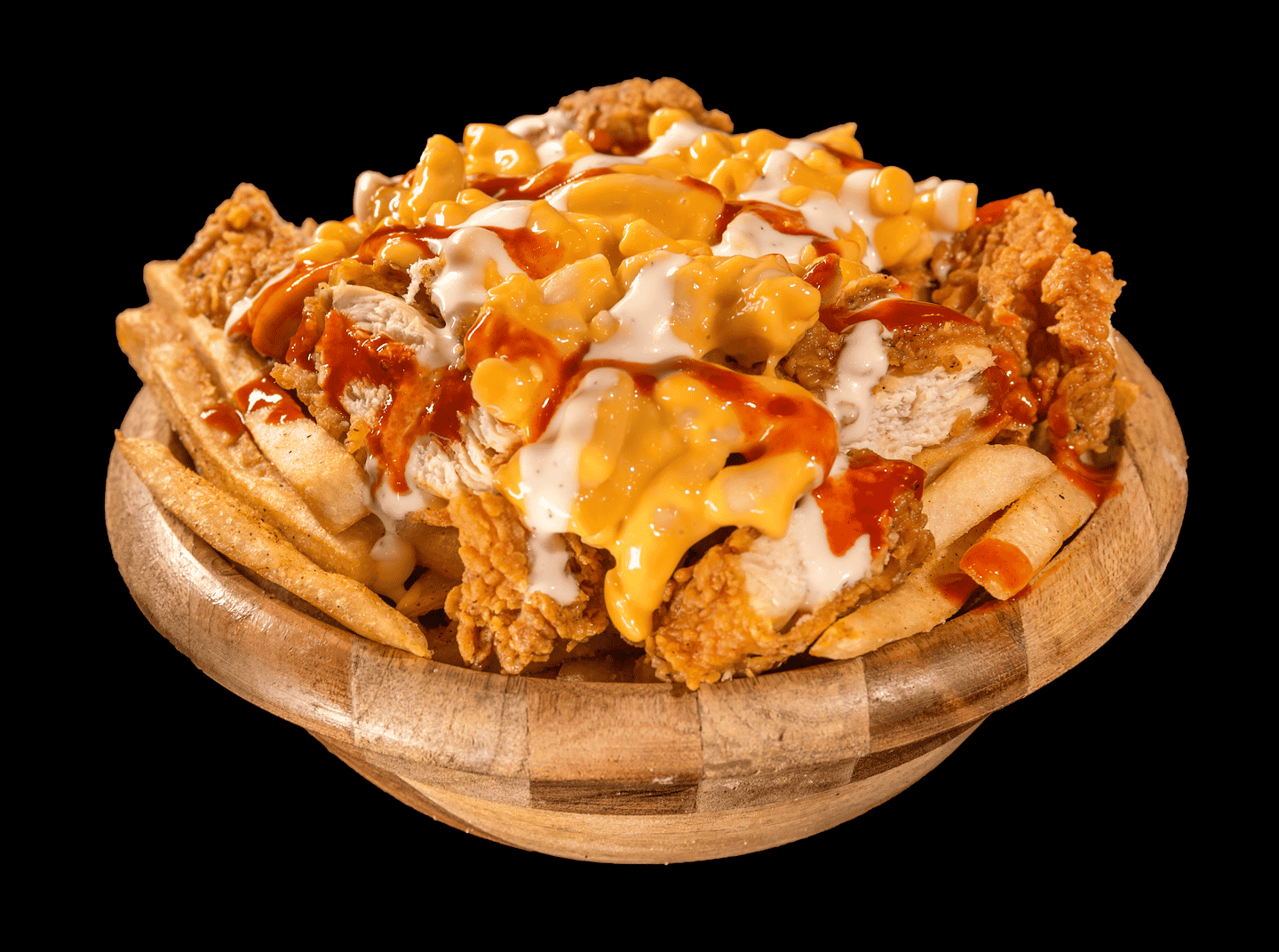 Loaded Chicken Fries