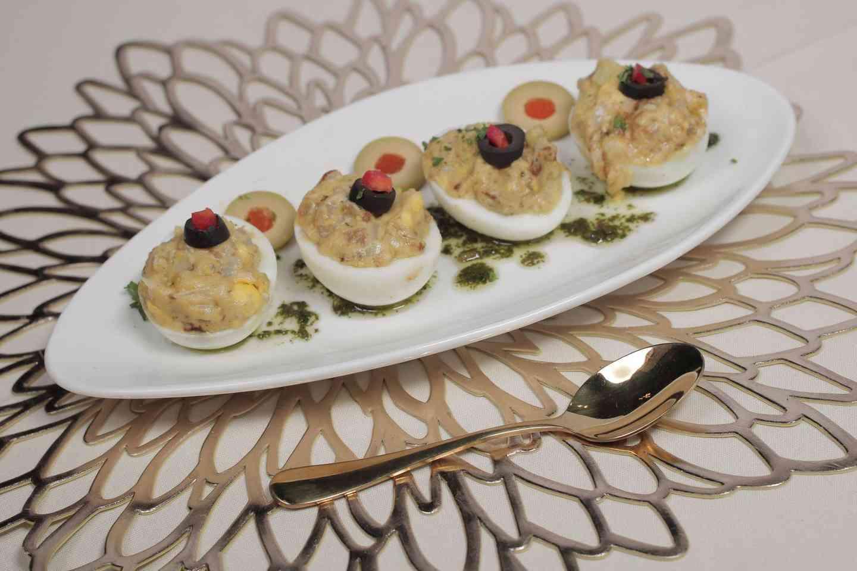 Stuffed Eggs-Huevos Rellenos