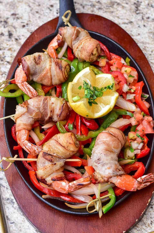 Shrimp Brochette (6pcs shrimp- 2 brochettes)
