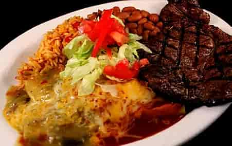 Steak & Enchilada