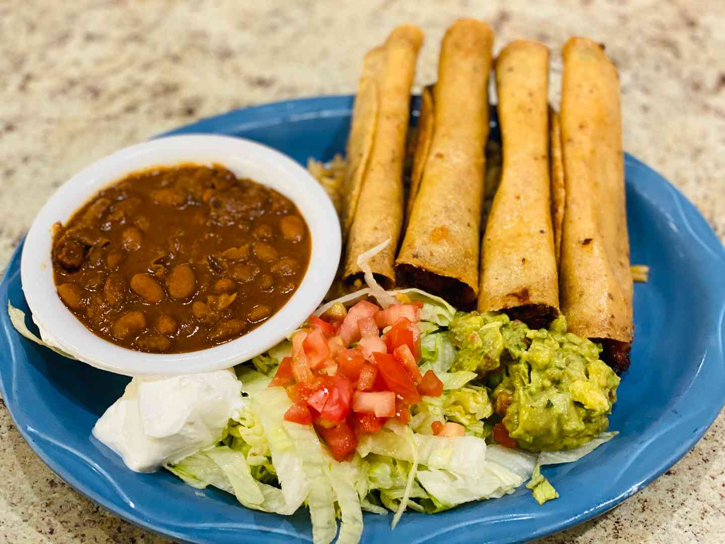 Chicken or Beef Flautas