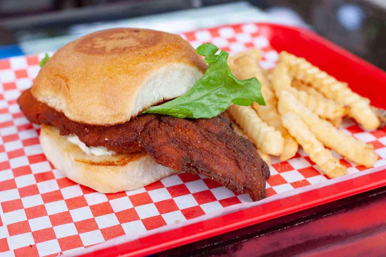 Seasoned Fried Fish Sandwich