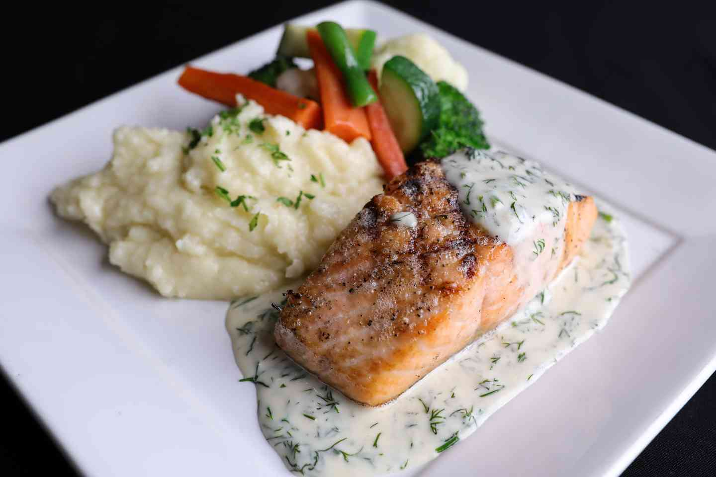 Grilled Fresh Atlantic Salmon