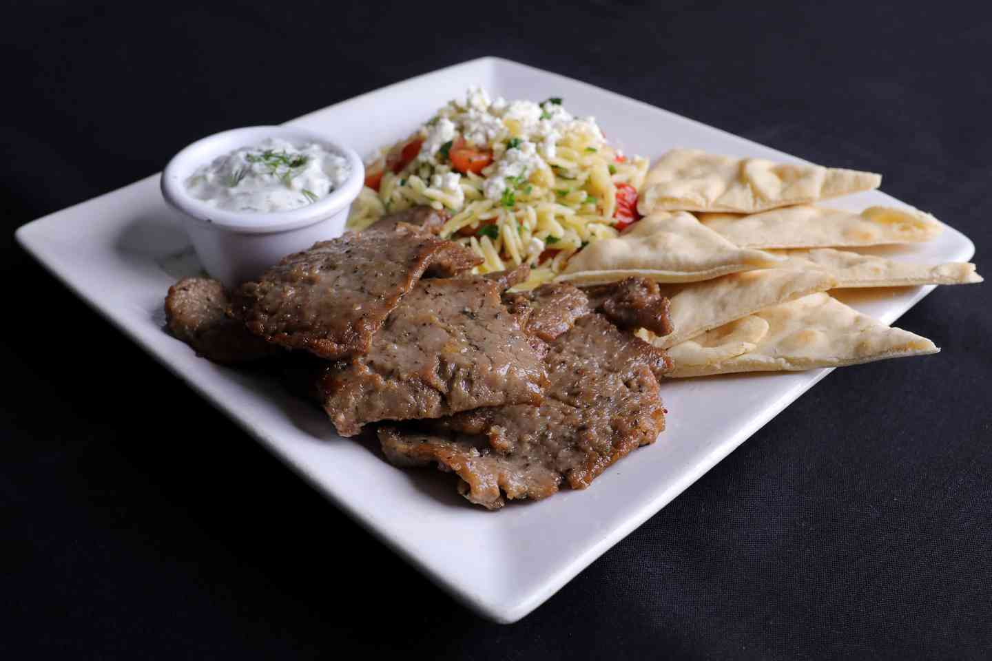 Greek Gyro Plate