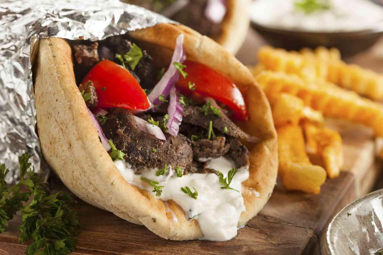Lamb & Beef Gyro Pita