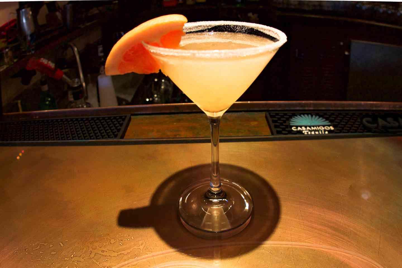 Fresh Grapefruit Martini