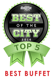 Best of the City 2016 - Top 5 - Best Buffet