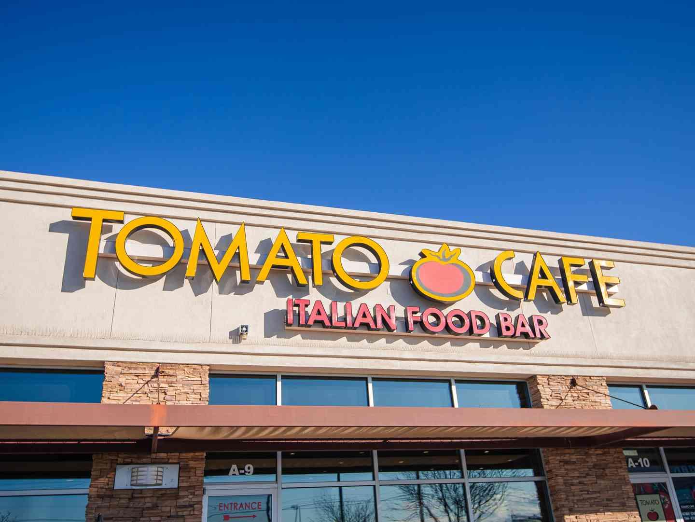 Tomato Cafe storefront