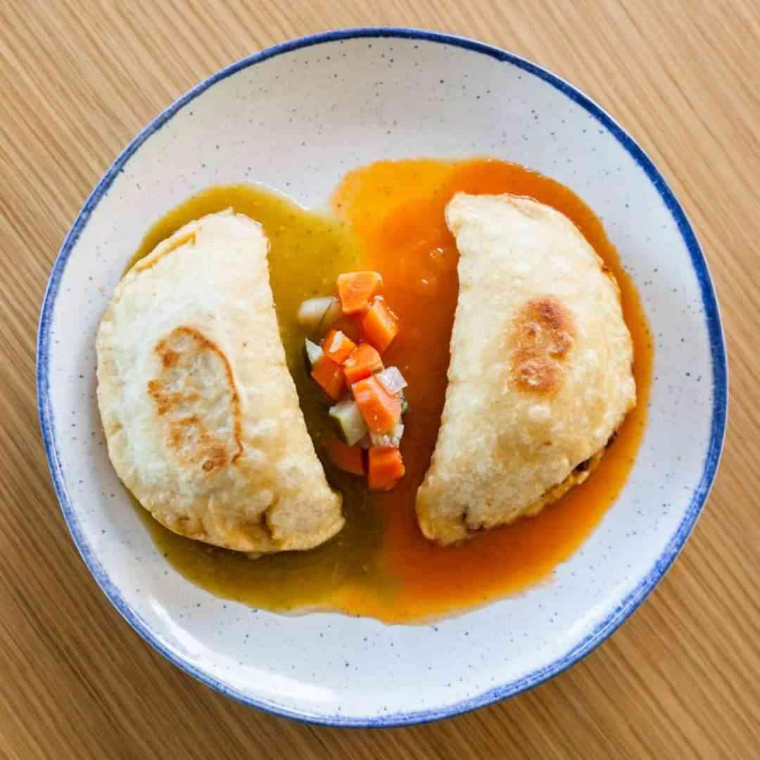2 Plantain Empanadas