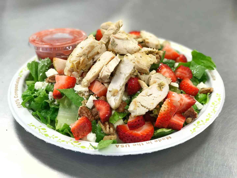 Strawberry, Pecan and Feta Salad