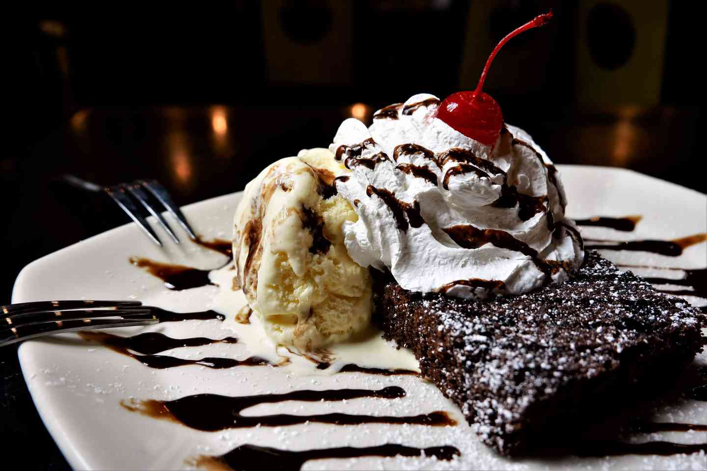 Big Chow Brownie Sundae