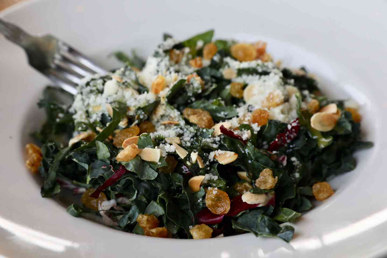 Tuscan Kale & Pecorino Salad