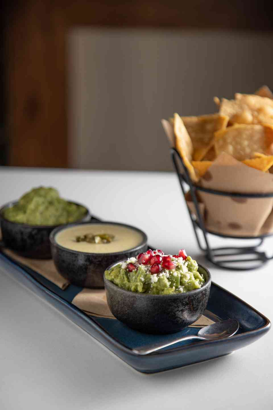 Guacamole/Dip Tasting for 3
