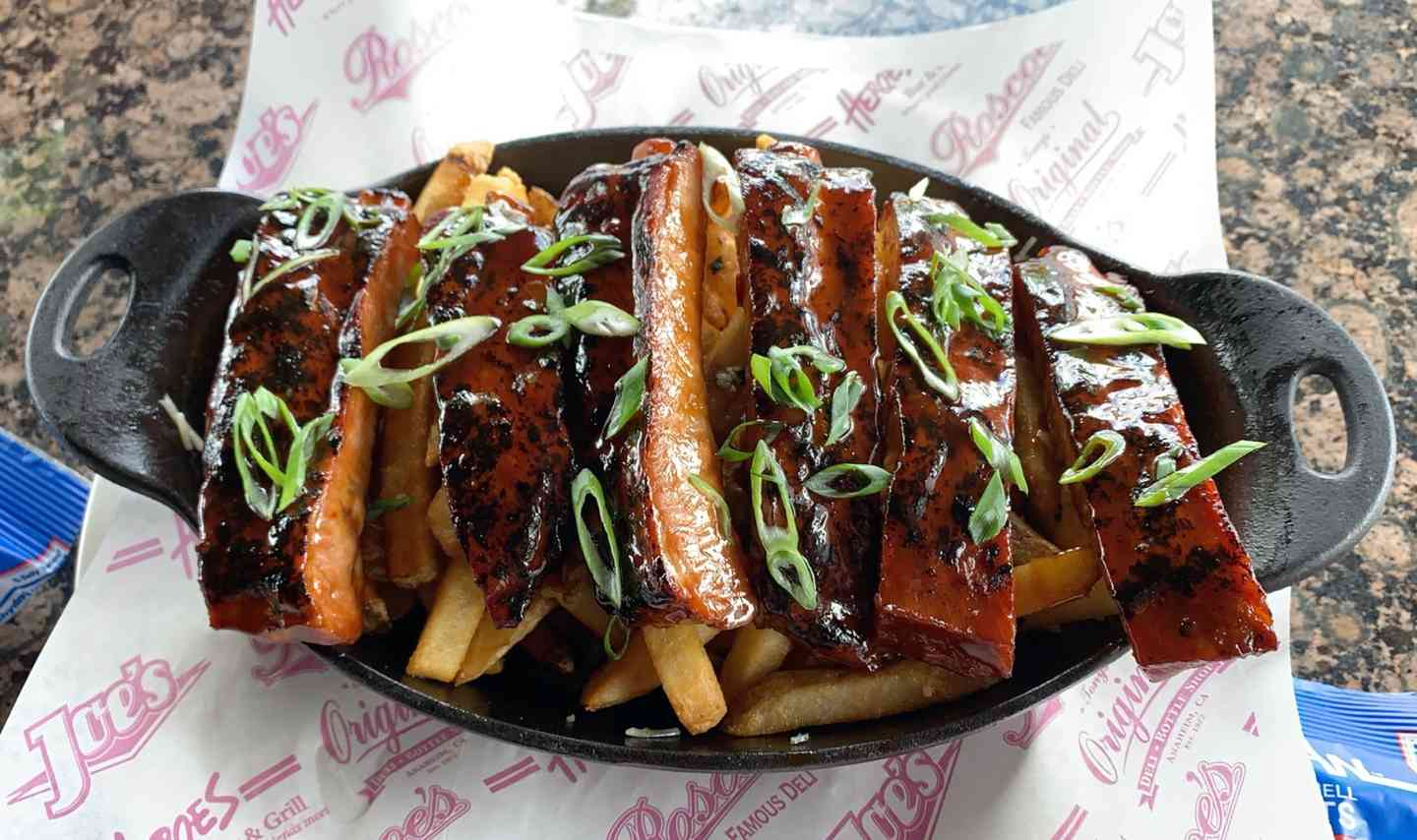 Sticky Ribs & Fries