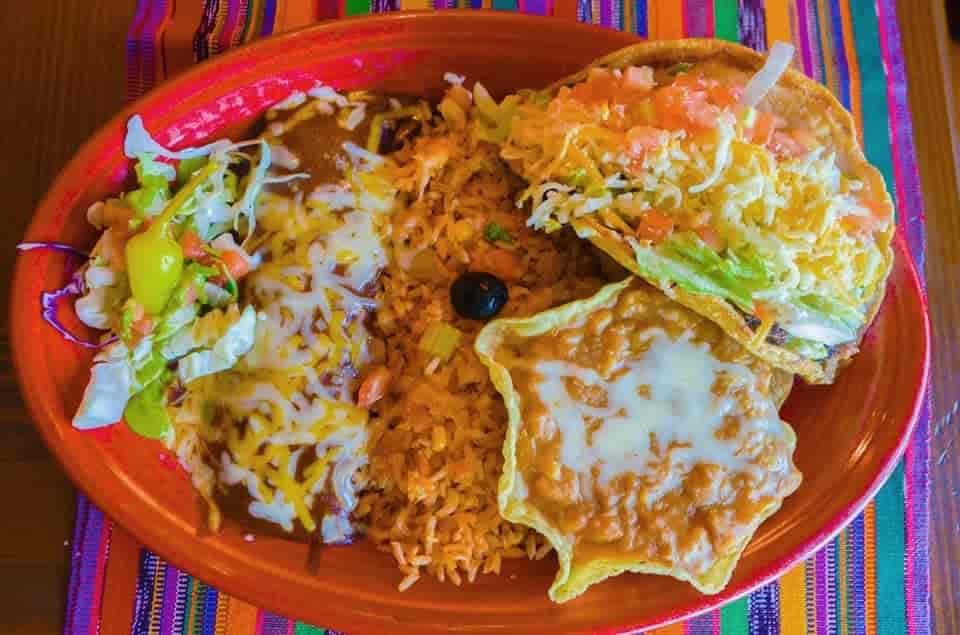 Combo # 3 - Two Cheese Enchiladas