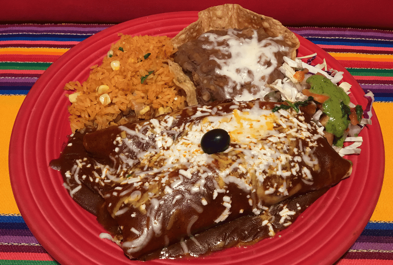 Combo # 5 - Cheese Enchilada, Chile Relleno & Crispy Taco