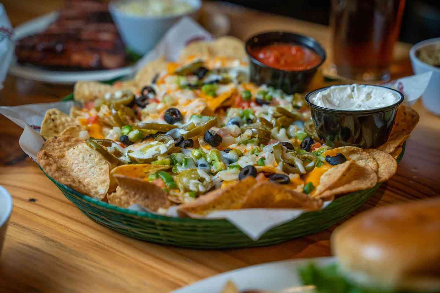 Loaded Lizard Nachos and Cheese