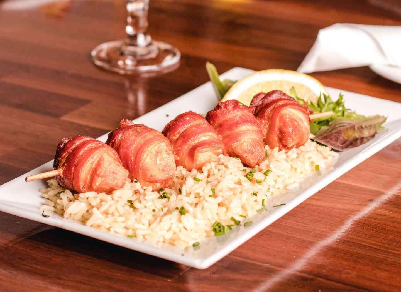 Scallops & Bacon