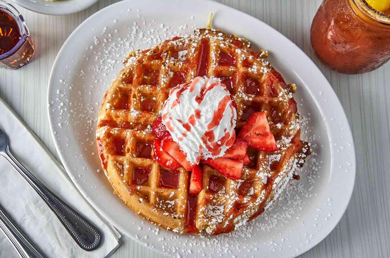 Blueberry or Strawberry Waffle