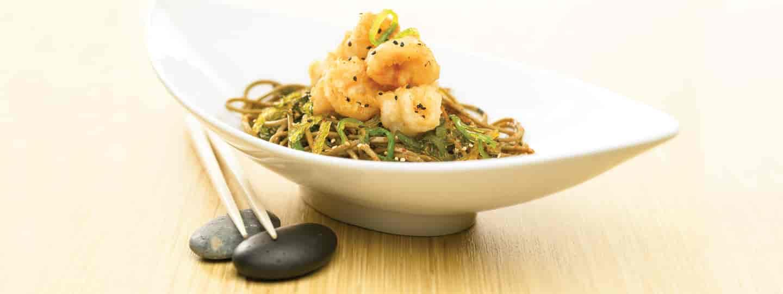 Shrimp & noodles