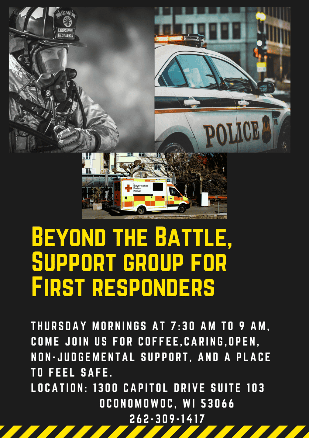 Support Group for First Responders